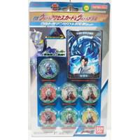 Bandai Ultraman Z DX Ultra Access Card Medal SP Zero & Brothers Set