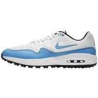Sepatu Golf Nike Air Max 1 G Original (Aq0863101) White - Biru Muda