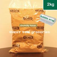 Morin Peanut Butter Chunky 2kg Selai Kacang Kasar Original