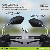 Kaca Spion Tgp Bold Cocok Untuk Semua Motor Honda Kaca Asli New Produk