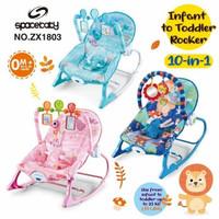 Space Baby Infant To Toddler Rocker ZX1803 / KURSI BANGKU AYUNAN BAYI