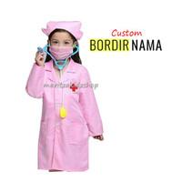 Baju Kostum Seragam Profesi Anak Perawat Suster Pink