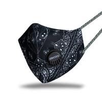 Masker Fashion Paisley 3 Ply - Bandana