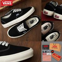 Sepatu Vans Authentic Mono Black Import Premium BNIB China