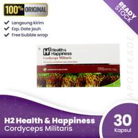 h2 cordyceps militaris per box / daya tahan
