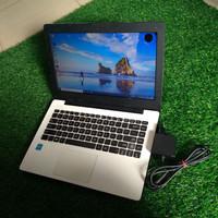 PROMO!! Laptop Bekas Asus X453MA Celeron N2840 Ram 2GB Putih Slim