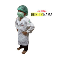 Baju / Seragam Kostum Profesi Anak Perawat Jas Lab Laboratorium