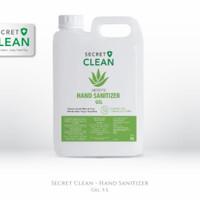 Secret Clean Gel Antiseptic Hand Sanitizer 5 Liter
