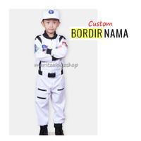 Baju / Stelan / Setelan / Kostum Profesi Astronot Putih