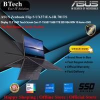 ASUS Zenbook Flip S UX371EA-HL701 Core i7-1165G7/16GB/1TB SSD/VGA/W10H