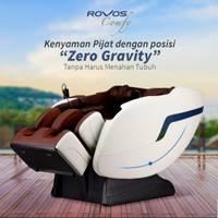 Kursi Pijat Rovos Comfy r311 / 300 Kursi Pijat NEGO SAMPAI JADI - Putih