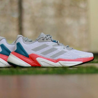 Sepatu Adidas X9000 L2 Jet Boost White / Red / Dark Blue
