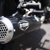 Knalpot racing untuk w175 Original Triton Exhaust