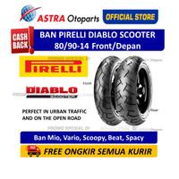 Pirelli Diablo Scooter 80/90-14M/CTL 40S DScooF (Depan) (2581700)