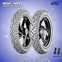 Paket Ban Motor Matic // IRC NF66 80/90 - NR83 90/90 Ring 14 Tubeless