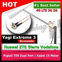 Antena Modem Wifi dan USB Yagi Extreme 3 Penguat Sinyal 4G 3G 2G