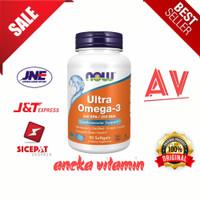 now foods ultra omega 3 500 epa / 250 DHA 90 softgel