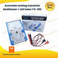 Avometer analog transistor Multitester + LED heles YX-393 YX393