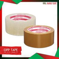 Nanko OPP Tape [48 mm x 83 y x 48 mic] - 1 karton @72 Roll