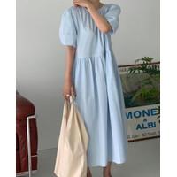 Ready Stock Dress 2332 baju import korea style casual korean premium