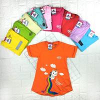 Baju Dress Tunik Atasan Kaos Anak Perempuan 2 3 4 5 6 7 8 9 Tahun