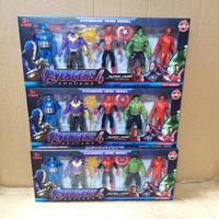 AVENGER SET ISI 5 / mainan figur avengers