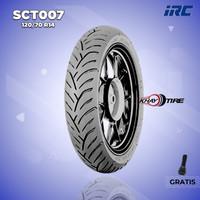 Ban Belakang Motor HONDA PCX // IRC SCT-007 120/70 Ring 14 Tubeless