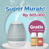 Sweet aroma diffuser YL free lemon essential oil young living