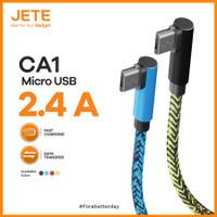 JETE CA1 2.4A Fast Charging Kabel Data Micro USB / Type C / Lightening
