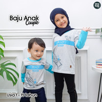 Baju Couple Adik Kakak Baju Kembar NuhaaKids Tshirt Family Bisa COD