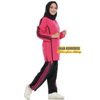 Setelan Olahraga Baju Trening senam wanita Murah
