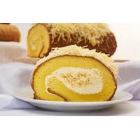 Double Cheese Roll Cake Bolu Gulung Keju Toping Keju Premium Kinoka