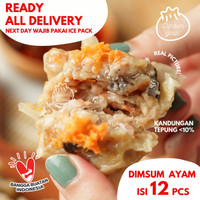 Siomay Dimsum somay Ayam Original dim sum frozen halal by Ginuk isi 12
