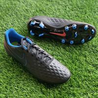 Sepatu bola nike original Legend 8 Academy FG black blue red new 2021