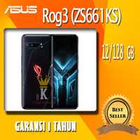 NEW ASUS ROG 3 RAM 12 GB INTERNAL 128 GB GARANSI 1 TAHUN