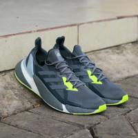 Sepatu Adidas X9000 L4 Dark Grey Green