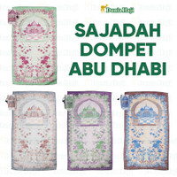 Sajadah Tas Dompet Traveling Abu Dhabi Travel Tipis Oleh Oleh Haji
