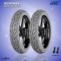 Paket Ban Motor BEAT, VARIO, ALL MATIC // IRC ECOTRAX // Sepasang