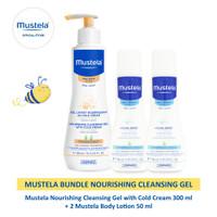 Mustela Bundle Nourishing Cleansing Gel
