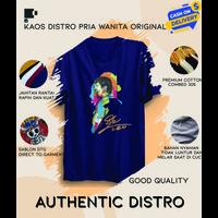 Baju Kaos Bola Pria Distro Original Tshirt Lengan Pendek Messi WorkArt