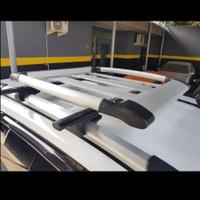 roof rak bagasi atas mobil terios, rush, pajero, fortuner + cross bar