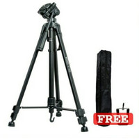 Tripod Excell Promoss Black For Camera DSLR Handycam Mirrorles