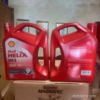 Oli Mesin Shell Helix HX3 SAE 20W-50 Original