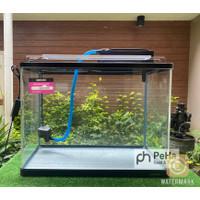 Paket Hemat Aquarium Nisso NBG 2060 Gratis Top Filter Lampu 3 mode
