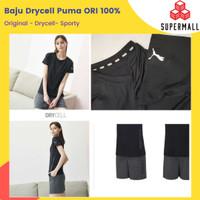 Kaos Drycell Puma Original - Baju Olahraga Wanita Kaos Running Sport