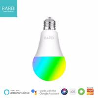 BARDI LED Lampu 7W Rumah Smart Light Bulb Wifi Warna RGB+W 7 Watt