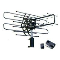 Antenna Antena Tv outdoor dengan remote dan booster + kabel 10m Anten
