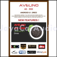 PROMO DOUBLE DIN HEADUNIT AVELINO AX-900 ANDROID 9 BERKUALITAS