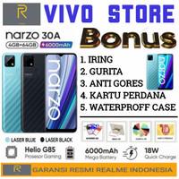 REALME NARZO 30A RAM 4/64 GB GARANSI RESMI REALME INDONESIA