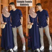 Gamis Muslimah Wanita Cowok Pesta/Baju Kondangan/Couple Kapel/ CP